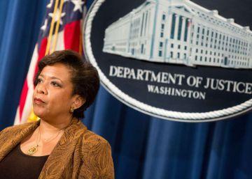 La fiscal general de EE UU descarta intervenir en la investigación a Hillary Clinton