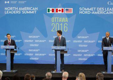 Obama a Peña Nieto: Trump es xenofobia, no populismo