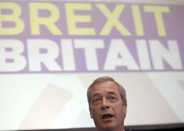 Nigel Farage renuncia à liderança do partido eurófobo UKIP
