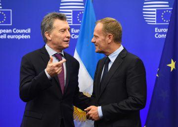 Macri vê oportunidades para acelerar o acordo comercial UE-Mercosul