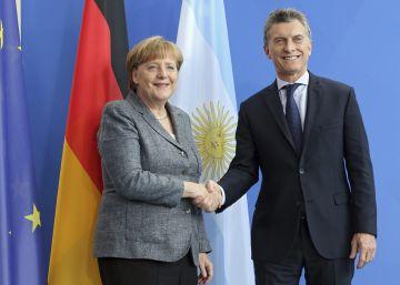 Diante de Merkel, Macri defende suas reformas econômicas