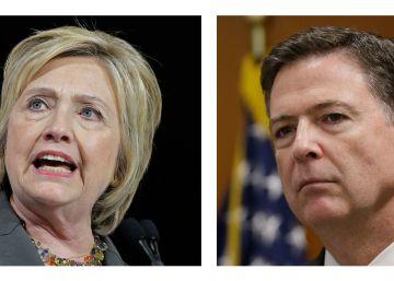 El FBI recomienda que no se presenten cargos contra Hillary Clinton por el caso de los correos