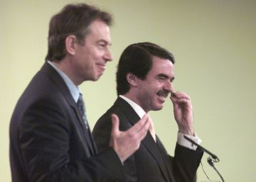 Aznar and Blair agreed on communications strategy for Iraq war