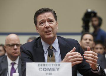 """El director del FBI: """"No hay pruebas de que Clinton mintió"""" sobre los correos"""