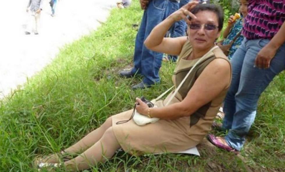 Lesbia Yaneth Urquía, compañera de Berta Cáceres.