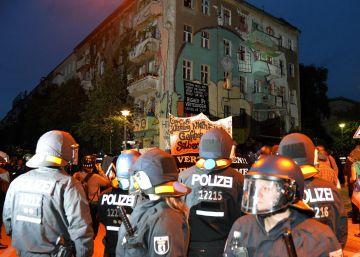 Berlín sufre una oleada de violencia de ultraizquierda