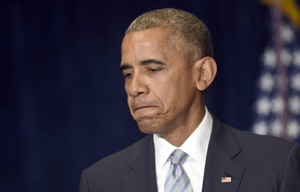 Obama, durante su declaración tras llegar a Varsovia