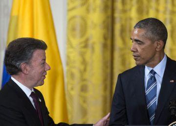 "Obama: ""Colombia está a punto de lograr una paz histórica"""