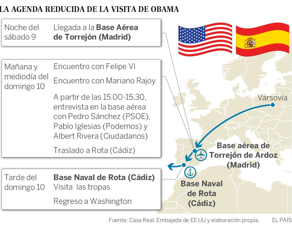 Obama acorta su viaje a España por el ataque contra policías en Dallas
