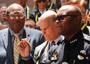 """El jefe de policía de Dallas """"Vamos a hacer volar por los aires a ese tipo"""""""