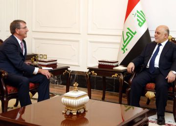 EE UU tendrá un puesto avanzado de asesores militares a las puertas de Mosul