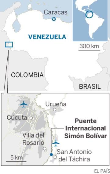 Arroz, harina y aceite... la frontera que separa a Venezuela y a Colombia