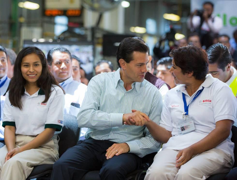 Enrique Peña Nieto en un acto el viernes pasado.