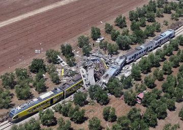 Al menos 23 muertos en un choque de trenes al sur de Italia