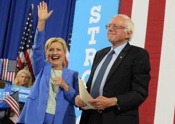 Sanders apoya a Clinton y completa la unidad demócrata frente a Trump