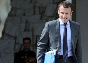 El ministro Macron desafía a Hollande y Valls al postularse para el Elíseo