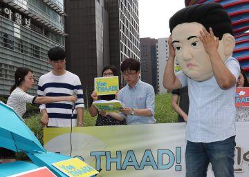 China pide a EEUU y Corea del Sur que detengan su escudo antimisiles