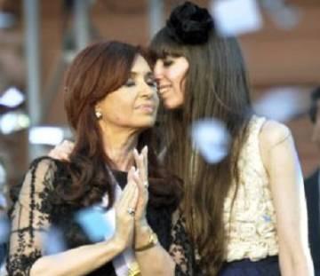 Cristina y Florencia Kirchner en una foto de archivo.