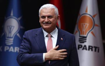 Binali Yildirim, en mayo pasado.