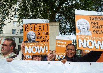 Los europeos no quieren concesiones a Londres tras el 'Brexit'