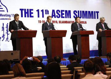 La cumbre euroasiática pasa de puntillas sobre el conflicto del mar de China meridional