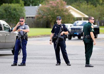 Tres policías muertos en un tiroteo contra agentes en Luisiana