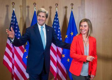 Kerry y Mogherini defienden la unidad europea frente al 'Brexit'