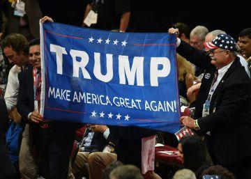 Los republicanos contrarios a Trump se hacen oír al inicio de la convención