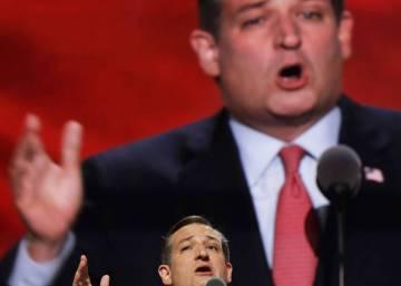 Los republicanos abuchean a Ted Cruz y muestran la fractura del partido