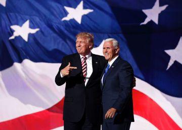 Pence, número dos de Trump, se activa para cerrar las divisiones