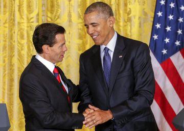 Obama y Peña Nieto reafirman los lazos bilaterales a la sombra de Trump