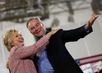Clinton confirma a Tim Kaine, hispanohablante, como número dos
