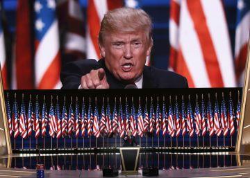 Donald Trump se presenta como un líder providencial para un país en caos