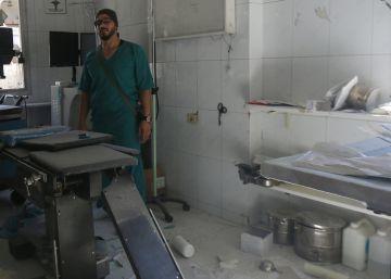 Los bombardeos afectan a cuatro hospitales de campaña en Alepo
