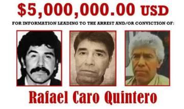 """Caro Quintero desde la clandestinidad: """"Quiero vivir en paz. Yo ya pagué"""""""
