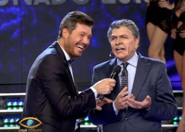 Marcelo Tinelli y el imitador de Mauricio Macri en ShowMatch.