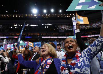EN VIVO | La convención demócrata celebra la votación para confirmar a Clinton