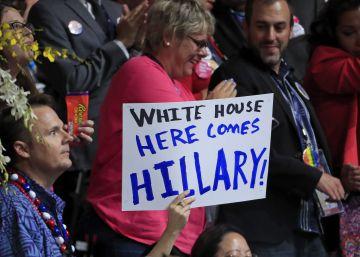 Los demócratas nominan a Hillary Clinton para ser la primera mujer presidenta