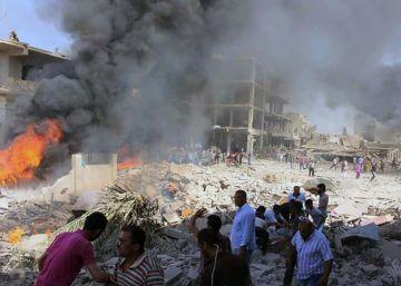 Más de 40 muertos en un ataque del ISIS en una ciudad siria de mayoría kurda