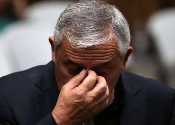 El expresidente de Guatemala, Otto Pérez, ligado a proceso por un nuevo caso de corrupción