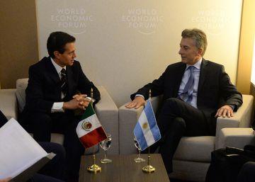 Macri recibe a Peña Nieto para hablar de comercio bilateral