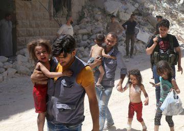 La batalla por Alepo atrapa a 250.000 civiles en zona rebelde