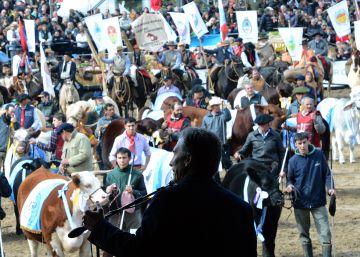 Macri y el campo argentino ratifican su idilio en la exposición rural