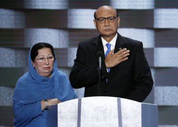 Trump cruza otro límite al atacar a la familia de un caído en Irak