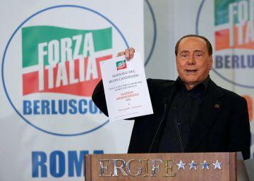 Berlusconi trata 'in extremis' de reagrupar el centroderecha