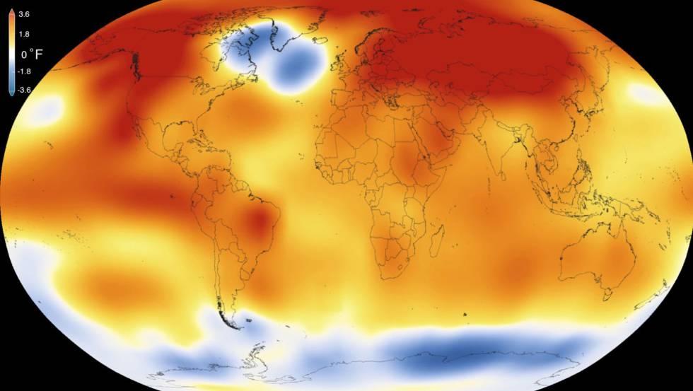 El calentamiento global y la emisión de gases efecto invernadero alcanzan niveles récord