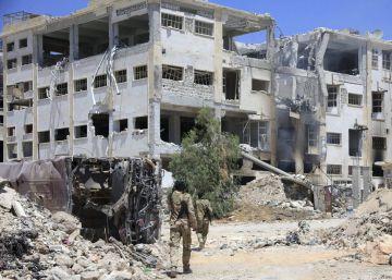 Equipos de rescate sirios denuncian un ataque con gas