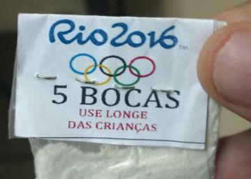 A cocaína também embarca para o Rio
