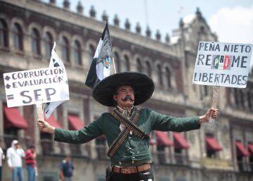 Los maestros disidentes en México condicionan el regreso a clases