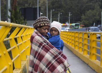El puente que no pueden cruzar los haitianos